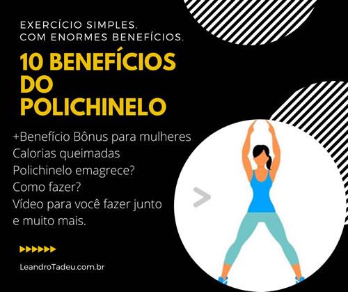 10 benefícios do polichinelo