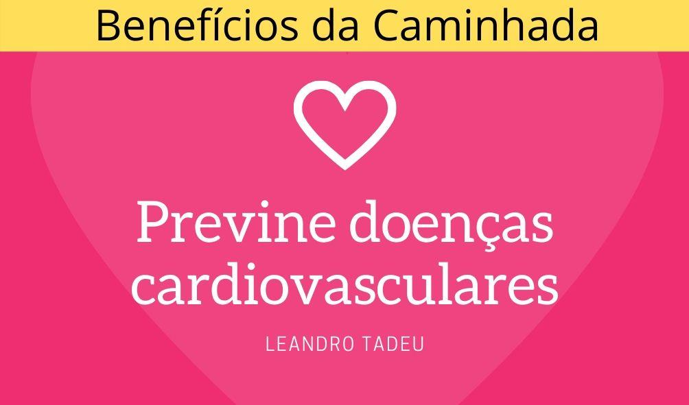 Benefícios da caminhada para o coração