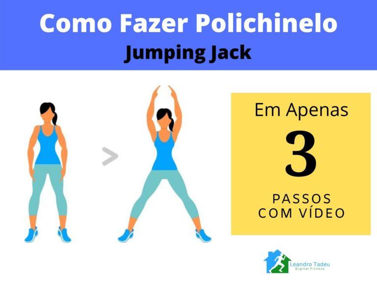 Como Fazer Polichinelo (Jumping Jack)
